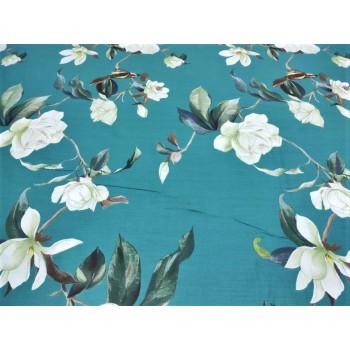 Постельное белье бязь light (лайт) Цветы Магнолии фото 2