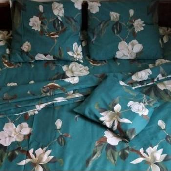 Постельное белье бязь light (лайт) Цветы Магнолии фото 1