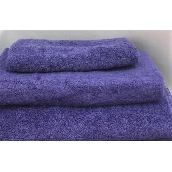 Махровое полотенце Туркменистан фиолетовое фото 1