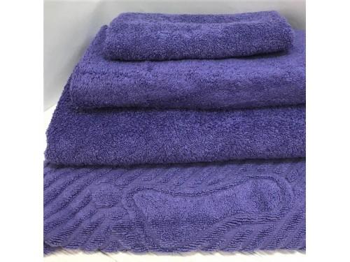 Махровое полотенце Туркменистан фиолетовое 2205 от АDТ в интернет-магазине PannaTeks