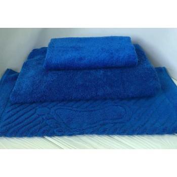 Махровое полотенце Туркменистан синее фото 2