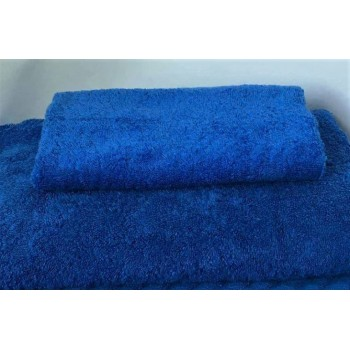 Махровое полотенце Туркменистан синее фото 1