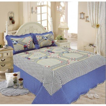 Подростковое покрывало на кровать Дорога