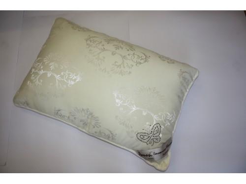 Гипоаллергенная подушка шелковая бежевая 50х70 700201 сатин, Китай 700201 от ALLTEX в интернет-магазине PannaTeks