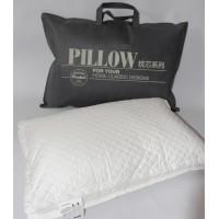Антиаллергенная подушка холлофайбер/сатин Vogue, 50х70, белая