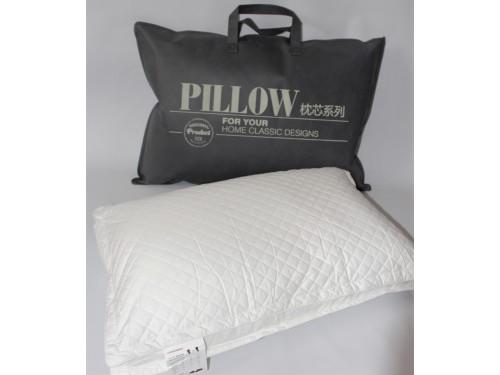 Антиаллергенная подушка холлофайбер/сатин Vogue, 50х70, белая 700206 от ALLTEX в интернет-магазине PannaTeks