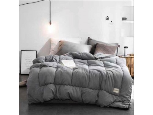 Одеяло COMFORTABLE Серое 700141 от ALLTEX в интернет-магазине PannaTeks