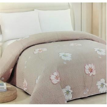 Покрывало на диван стеганое двустороннее евро 230х250 Soft Cotton 130118, Китай