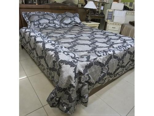 Атласное покрывало на кровать стеганое евро 230х250 Венеция 144201 144201 от ALLTEX в интернет-магазине PannaTeks