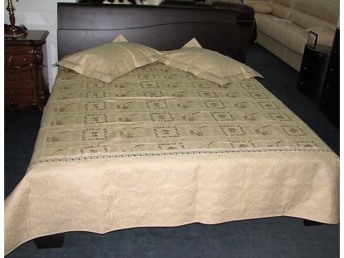 Покрывало на кровать стеганное хлопок Кантри 145137 евро, Alltex 145137 от ALLTEX в интернет-магазине PannaTeks