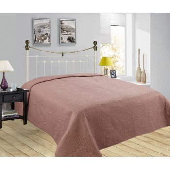 Стеганое покрывало на диван Монотон коричневый 148101, Китай, Alltex