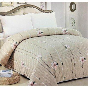 Покрывало на диван стеганое двустороннее евро 230х250 Soft Cotton 130113, Китай