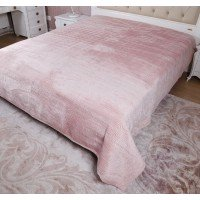 Велюровое покрывало на диван евро 230х250 Moire Velour 140103, Китай, Alltex