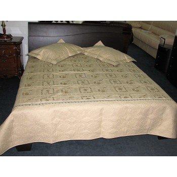 Покрывало на кровать стеганное хлопок Кантри 145137 евро, Alltex