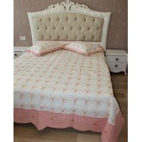 Покрывало на кровать стеганное хлопок Кантри 155114 евро, Alltex