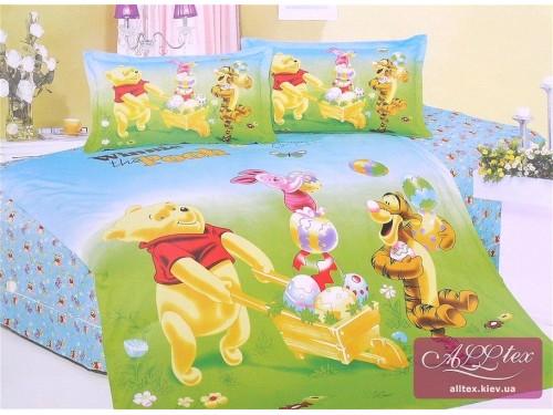 Детское постельное белье сатин Приключения Винни Пуха 212005 от ALLTEX в интернет-магазине PannaTeks