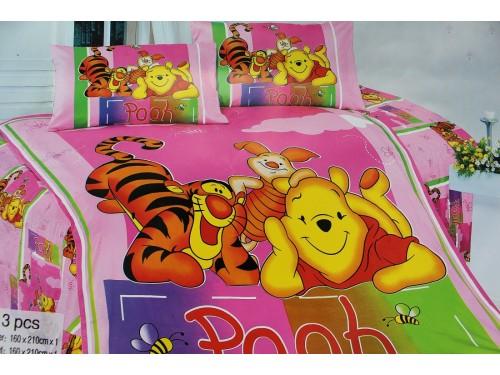 Детское постельное белье сатин Винни Пух 212007 от ALLTEX в интернет-магазине PannaTeks