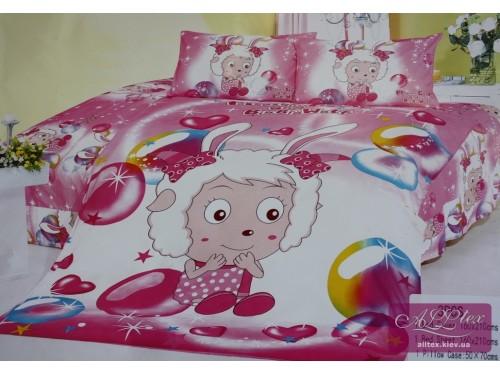 Детское постельное белье сатин Милая коза 212037 от ALLTEX в интернет-магазине PannaTeks