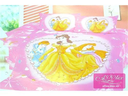 Детское постельное белье сатин Принцессы Диснея 212234 от ALLTEX в интернет-магазине PannaTeks