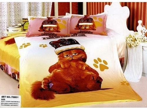 Детское постельное белье сатин Кот Гарфилд 212357 от ALLTEX в интернет-магазине PannaTeks