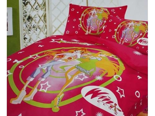 Детское постельное белье сатин Винкс клуб 212426 от ALLTEX в интернет-магазине PannaTeks