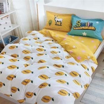 Детское постельное белье сатин Лимон