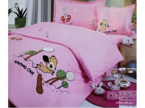 Детское постельное белье сатин Олененок 211002 от ALLTEX в интернет-магазине PannaTeks