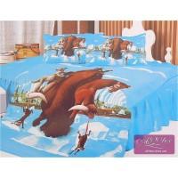 Детское постельное белье сатин Ледниковый период