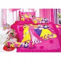 Детское постельное белье для девочки сатин Любимые Принцессы Диснея