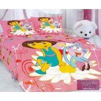 Детское постельное белье сатин Дорра