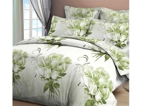 Постельное белье бязь Белые Розы 3D 00136 от Царский Дом в интернет-магазине PannaTeks