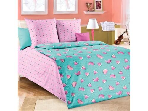 Детское постельное белье в кроватку бязь Арбузики Арбузики от Царский Дом в интернет-магазине PannaTeks
