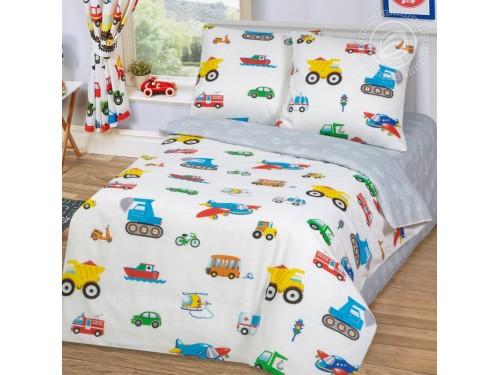 Детское постельное белье бязь Моторчик Моторчик от Царский Дом в интернет-магазине PannaTeks