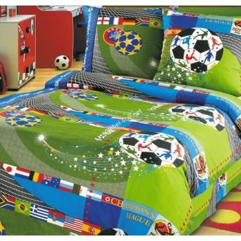 Детское постельное белье в кроватку бязь Чемпионат