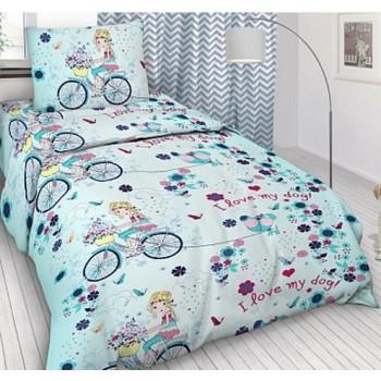 Детское постельное белье в кроватку бязь Элли и пес фото 3