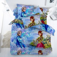 Детское постельное белье для девочки бязь Эльза