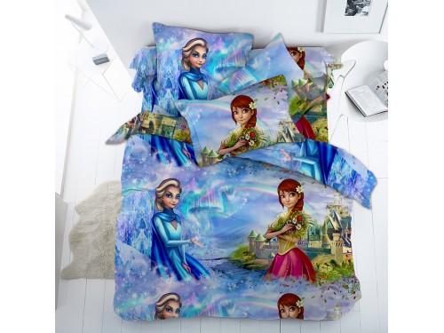 Детское постельное белье для девочки бязь Эльза Эльза от Царский Дом в интернет-магазине PannaTeks