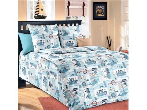 Детское постельное белье бязь Кораблики Кораблики от Царский Дом в интернет-магазине PannaTeks