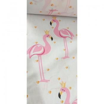 """Комплект белья подростковый бязь """"Розовые Фламинго"""" фото 2"""