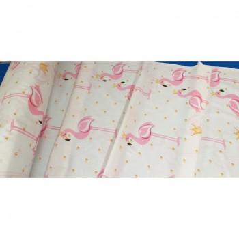 """Комплект белья подростковый бязь """"Розовые Фламинго"""" фото 3"""