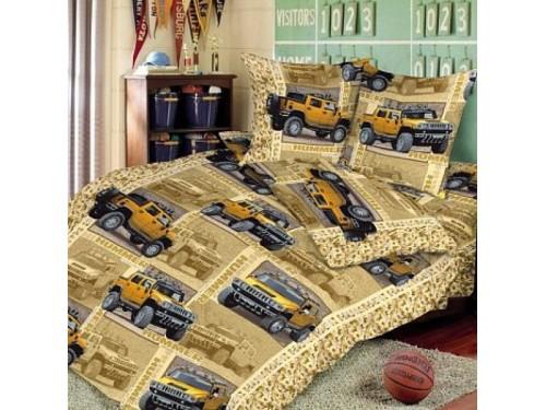 Детское постельное белье в кроватку бязь Сафари Сафари от Царский Дом в интернет-магазине PannaTeks