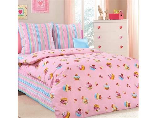 Детское постельное белье в кроватку бязь Сластена Сластена от Царский Дом в интернет-магазине PannaTeks