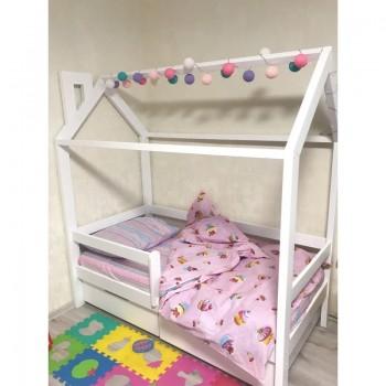 Детское постельное белье в кроватку бязь Сластена фото 3