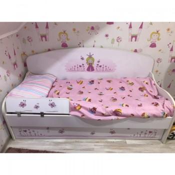 Детское постельное белье в кроватку бязь Сластена фото 4