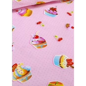 Детское постельное белье в кроватку бязь Сластена фото 2