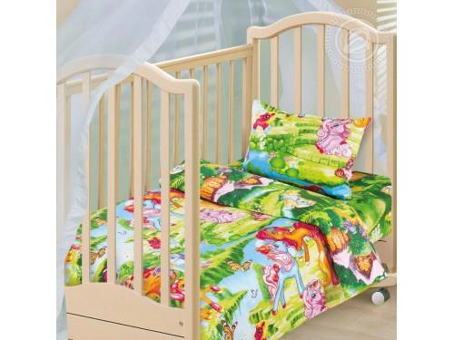 Детское постельное белье в кроватку бязь Сказочные Сны Волшебные сны от Комфорт Текстиль в интернет-магазине PannaTeks