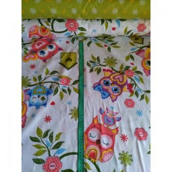 Детское постельное белье бязь Совята фото 2