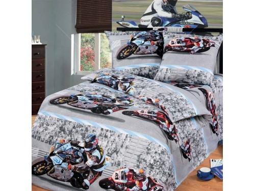 Детское постельное белье бязь Супербайк Супербайк от Царский Дом в интернет-магазине PannaTeks