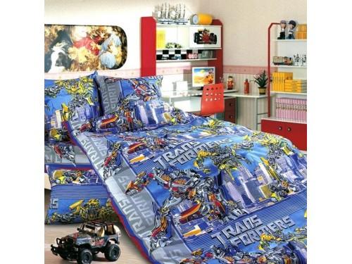 Детское постельное белье бязь Трансформеры Трансформеры от Царский Дом в интернет-магазине PannaTeks