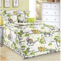 Детское постельное белье бязь Эра Динозавров